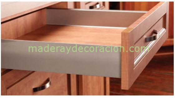 Cajones y caceroleros para muebles de cocina for Cajones de plastico para muebles de cocina