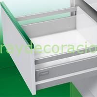 Cajones y gaveteros para muebles de cocina