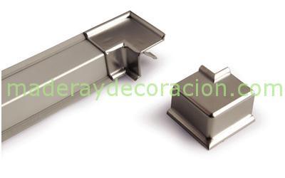 Copete en aluminio para remate de encimeras de cocina - Remates encimeras cocinas ...