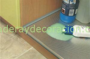 Protector mueble fregadero for Fregaderos de aluminio