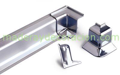 Copete en aluminio para remate de encimeras de cocina - Remates de cocinas ...