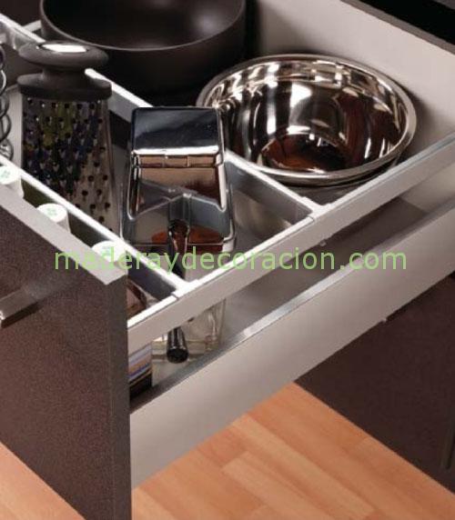 Cajones y gavetas para muebles de cocina for Muebles de cocina finsa