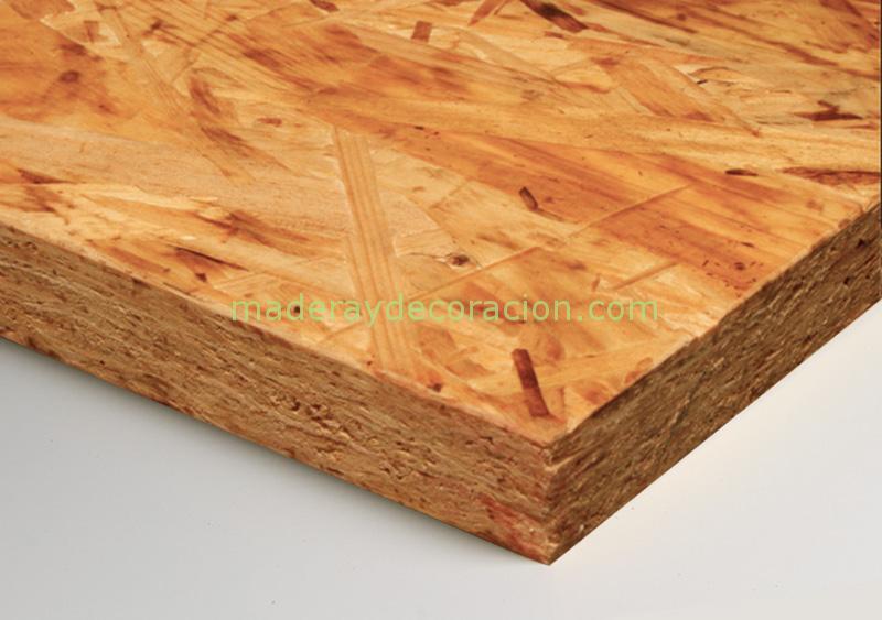 Tablero osb 3 aglomerado de 9mm 12mm 15mm y 18mm - Tablero perforado madera ...