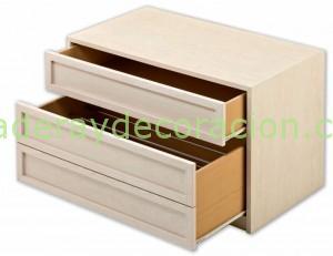 Zapateo sencillo con 1 cajón: Modelo Atenas