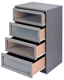 Cajoneras a medida baratas para armarios y escritorios - Cajoneras interior armario ...