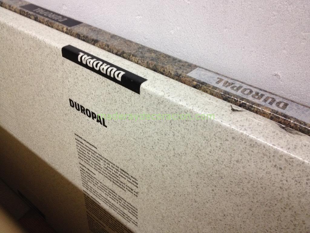 Duropal las mejores encimeras lamindas para cocina for Mejor material para encimeras de cocina