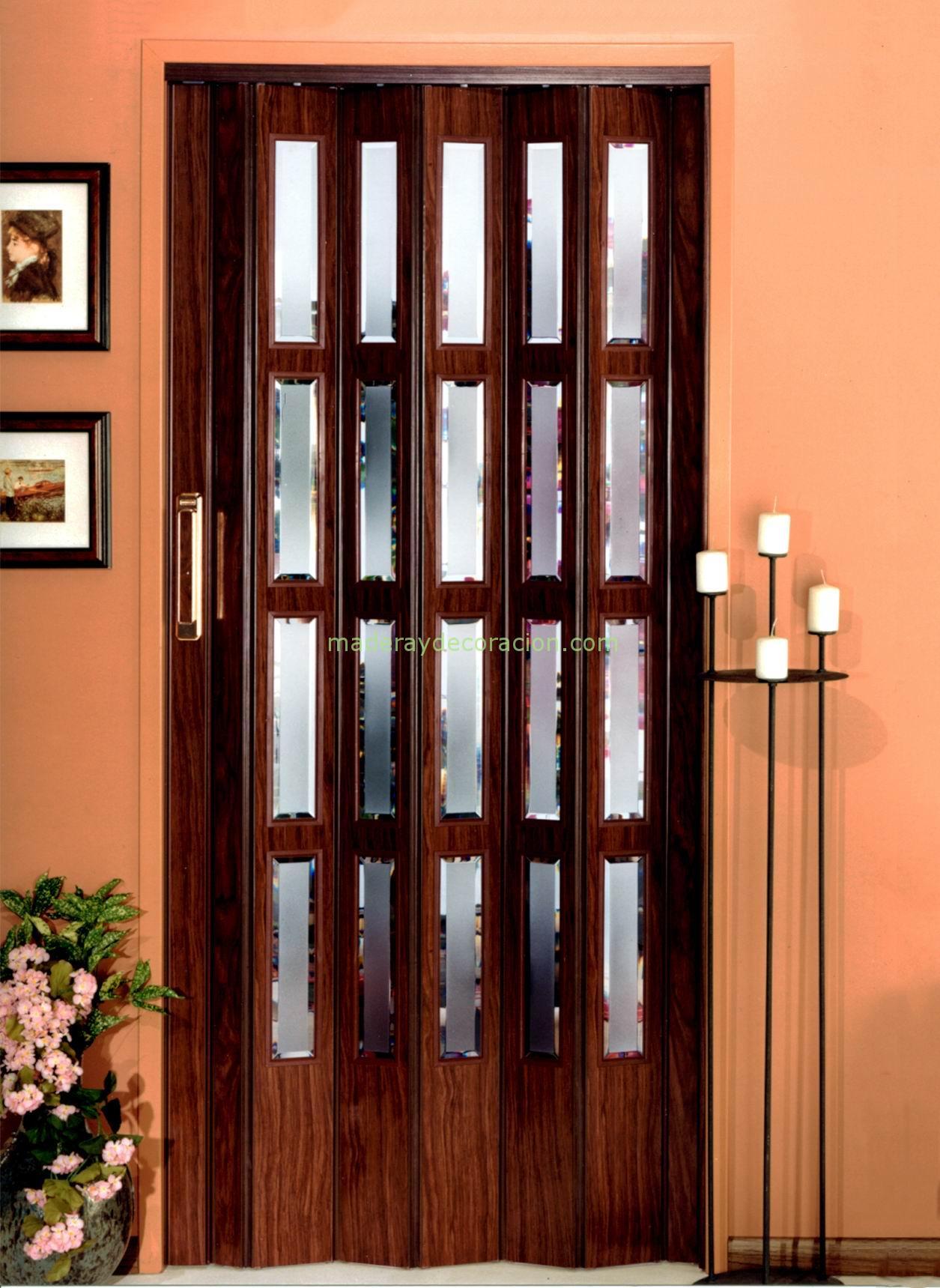 Puerta plegable venecia almac n de bricolaje en madrid - Kit puertas plegables ...