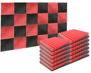 Espuma Absorción Aislamiento Acústica Paneles