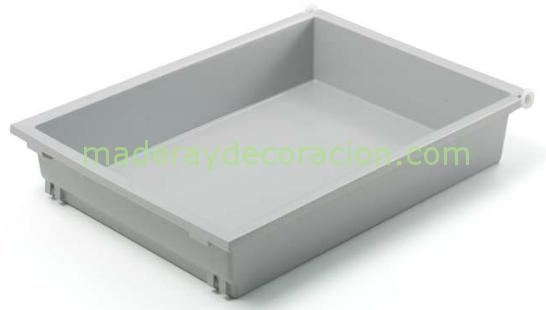 Caj n combi gris almac n de bricolaje en madrid desde 1984 for Cajones de plastico para muebles de cocina