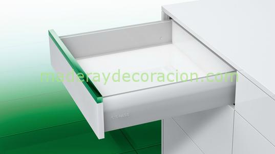 Cajones y gavetas para muebles de cocina for Muebles de cocina 45 cm
