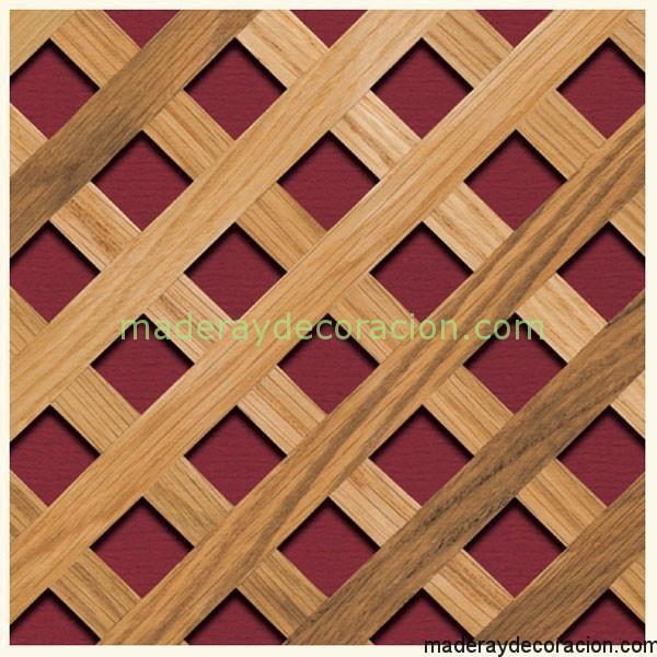 Celos as de madera y pl stico en distintos modelos - Celosias de madera leroy merlin ...