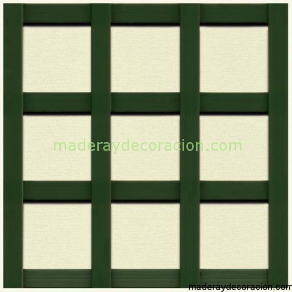 Celosia PVC verde 57mm