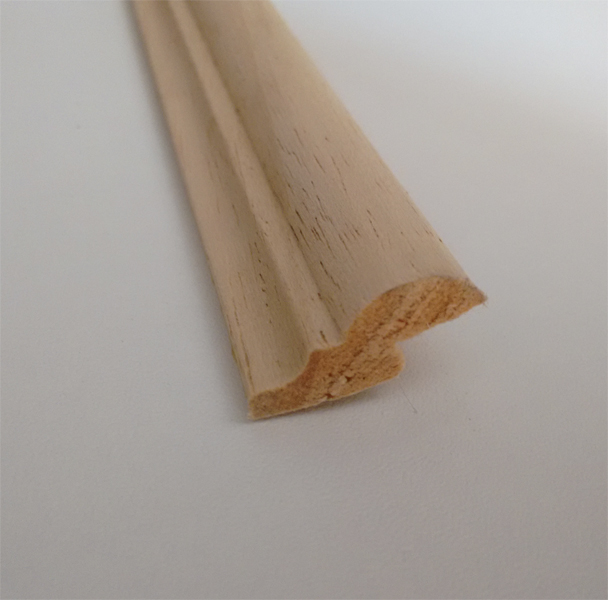 Moldura con rebaje madera maciza cocinas en kit - Tablero de madera maciza ...