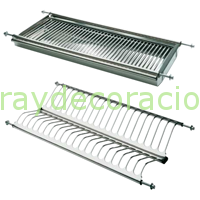 Escurreplatos acero inoxidable