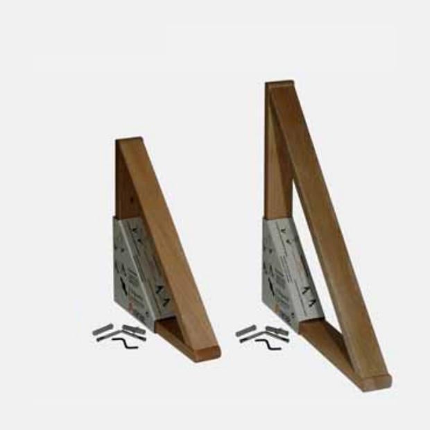 Soporte estanter a madera haya maciza aranaz cocinas en - Cajoneras en kit ...